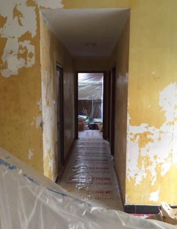 广州旧房翻新刷墙案例