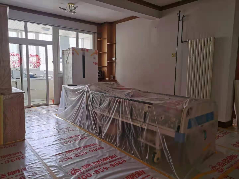 水利局家属院旧房墙面翻新案例